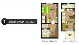 Vizyon Apartmanı, Kat Planları-1