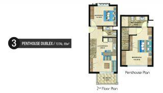 Vizyon Apartmanı, Kat Planları-3