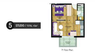 Vizyon Apartmanı, Kat Planları-5