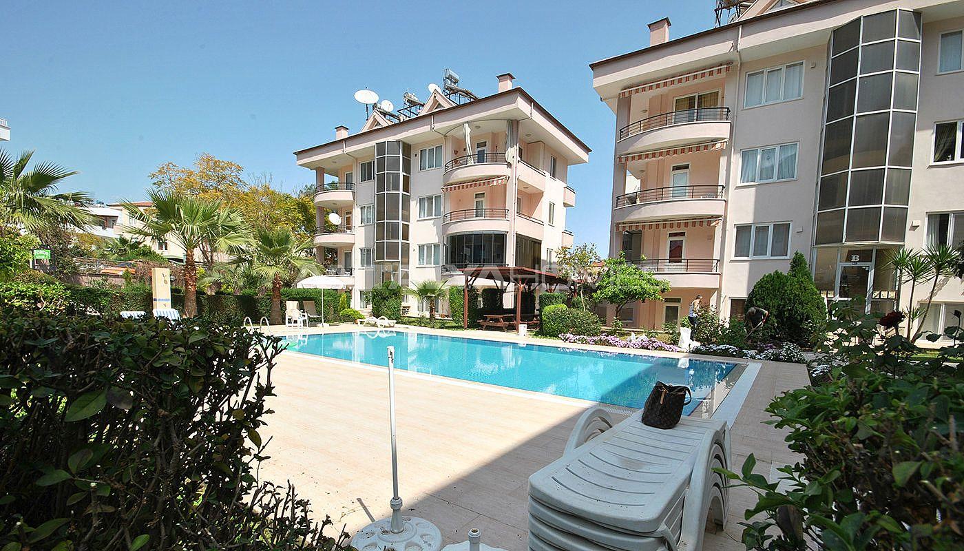 Penthouse appartement kemer avec piscine commune for Prix appartement