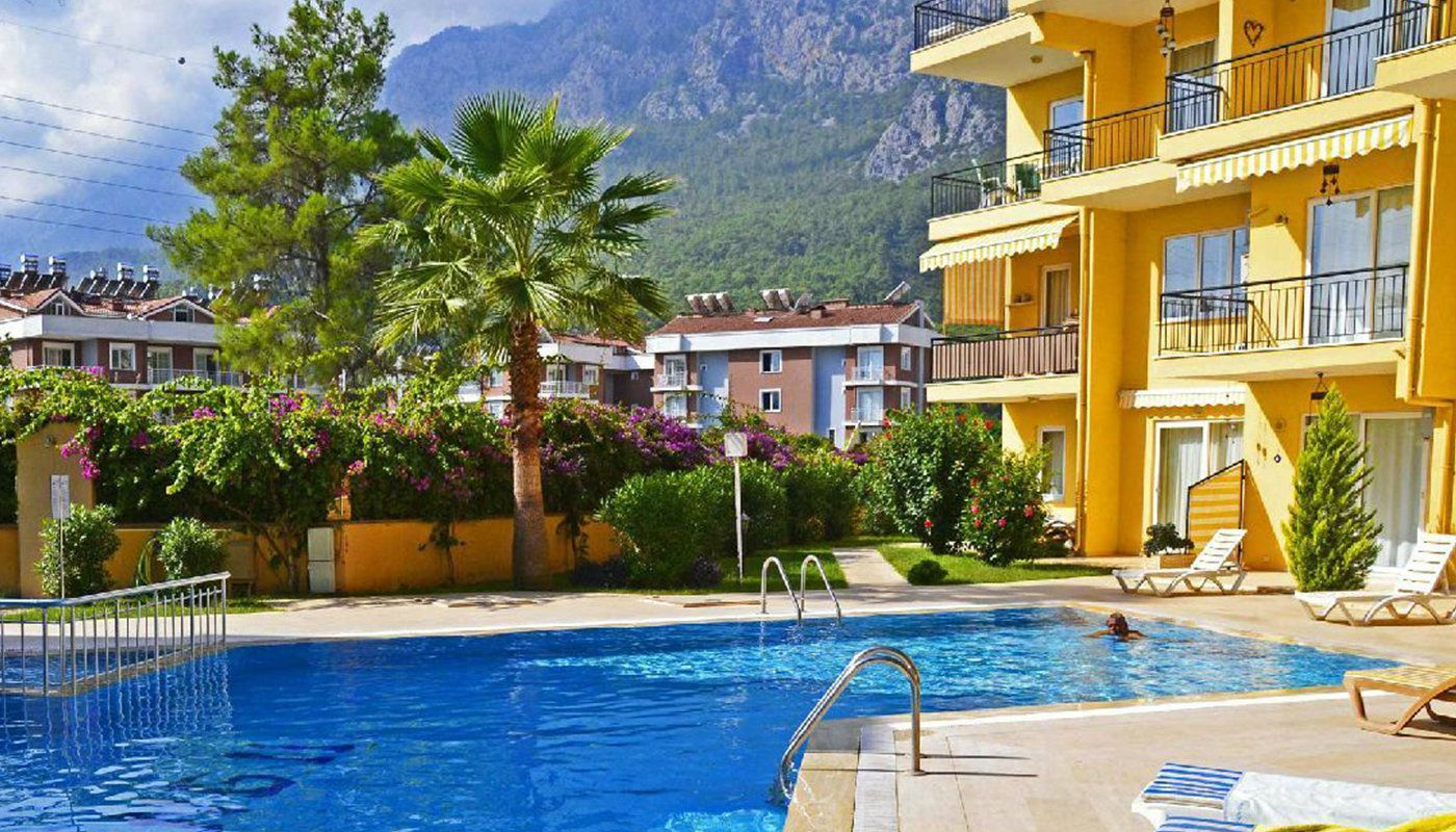 Gemeubileerd duplex appartement in arslanbucak kemer - Berg appartement ...