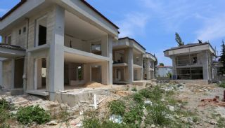 Luxury Houses with Nature View in Kemer Goynuk, Construction Photos-5