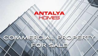 190 m² Commerciële Winkels in Antalya Langs de Weg, Antalya / Lara