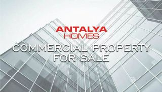 Joint-Owned Commercial Property in Guzeloba Neigborhood, Antalya / Lara