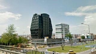 Straßenrandbüros mit Futuristischer Architektur in Kepez, Antalya / Kepez