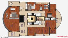 Panorama Trabzon Flats, Property Plans-1