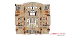 Ipekyolu Residence, Kat Planları-1