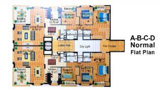 9.Kısım Apartmanı, Kat Planları-4