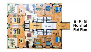 9.Kısım Apartmanı, Kat Planları-5