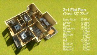 Konakkent Park Apartmanı, Kat Planları-1