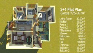 Konakkent Park Apartmanı, Kat Planları-2