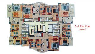 Luxus Wohnungen in Trabzon, Immobilienplaene-4