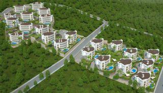 Trabzon'da Satılık Villalar, Kat Planları-1