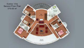 Trabzon'da Satılık Villalar, Kat Planları-3