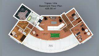 Trabzon'da Satılık Villalar, Kat Planları-4