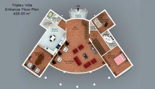 Trabzon'da Satılık Villalar, Kat Planları-5