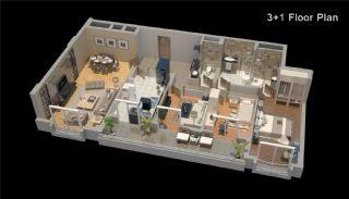 Zeezicht Appartementen in Trabzon, Vloer Plannen-2