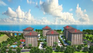 Trabzon'da Satılık 3 Yatak Odalı Daireler, Kat Planları-1