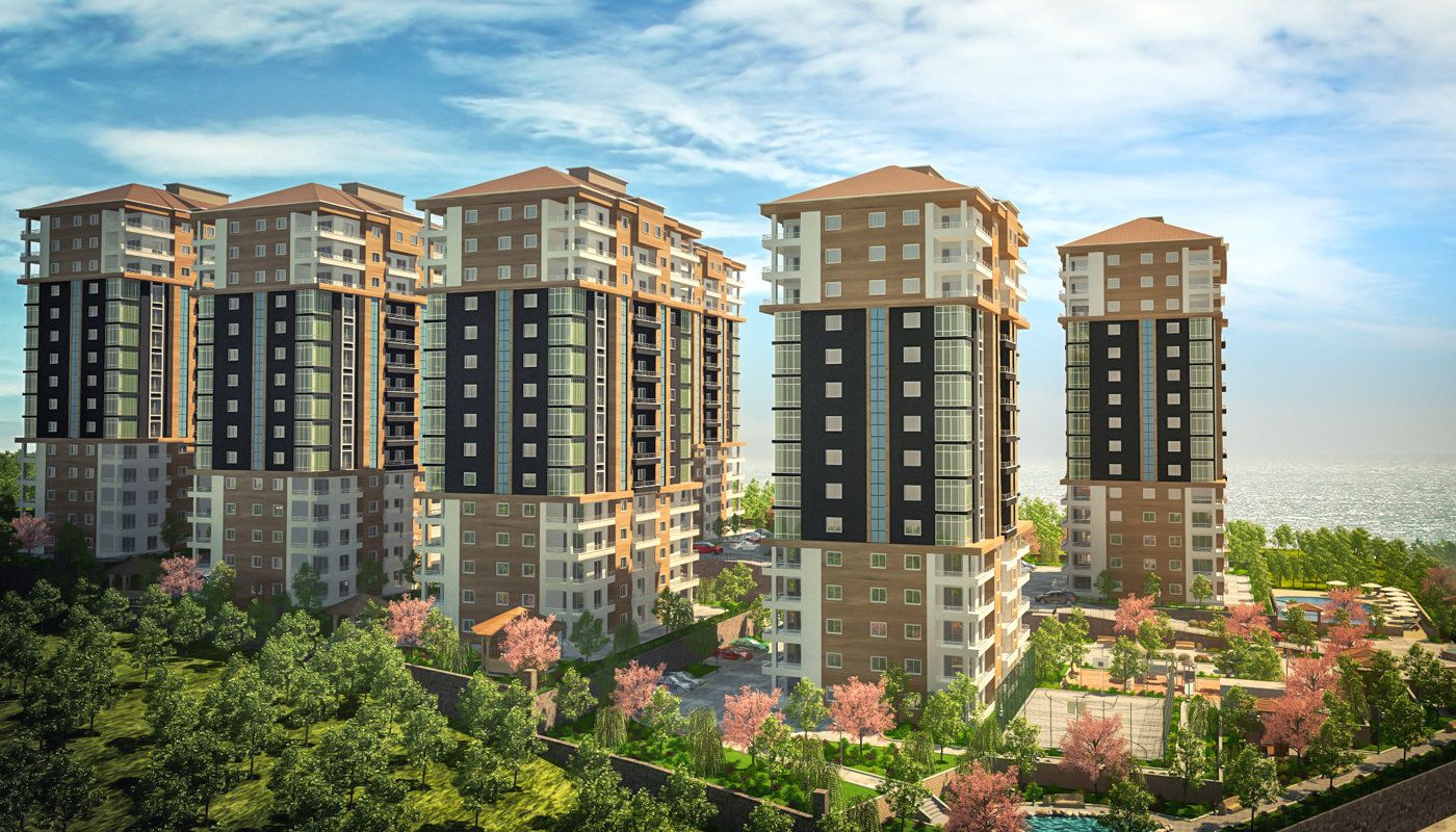 You Can Buy Apartments in Trabzon, Turkey by Installments