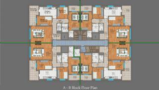 شقق من ثلاث غرف للبيع في طرابزون, مخططات العقار-2