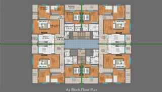 شقق من ثلاث غرف للبيع في طرابزون, مخططات العقار-3
