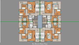 شقق من ثلاث غرف للبيع في طرابزون, مخططات العقار-4