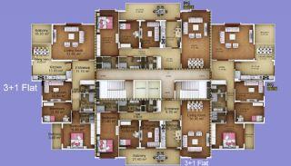 عقارات 3 غرف نوم كبيرة للبيع في طرابزون, مخططات العقار-2
