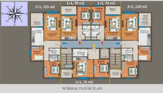 Apartment Trabzon Options in Turkey, Property Plans-2