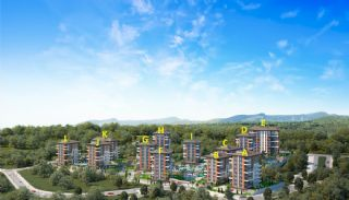 Spacious Trabzon Apartments with Sea View, Property Plans-1