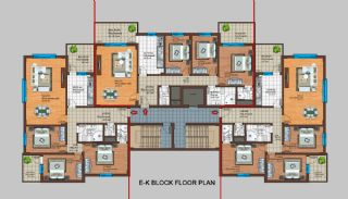 Spacious Trabzon Apartments with Sea View, Property Plans-4