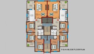 Spacious Trabzon Apartments with Sea View, Property Plans-5
