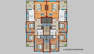 Spacious Trabzon Apartments with Sea View, Property Plans-6