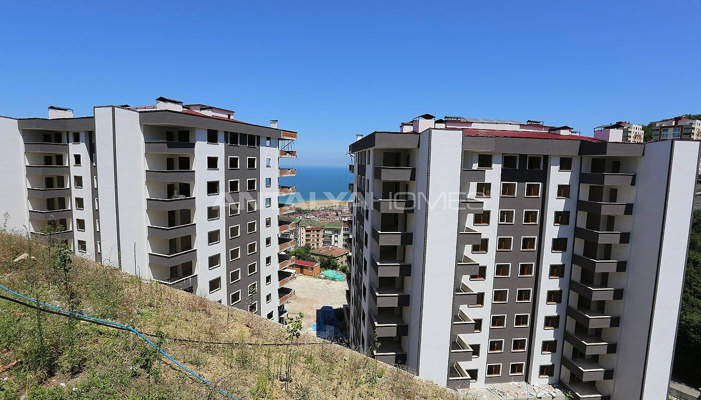 Trabzon apartments for sale with sea and city views for Big city apartments