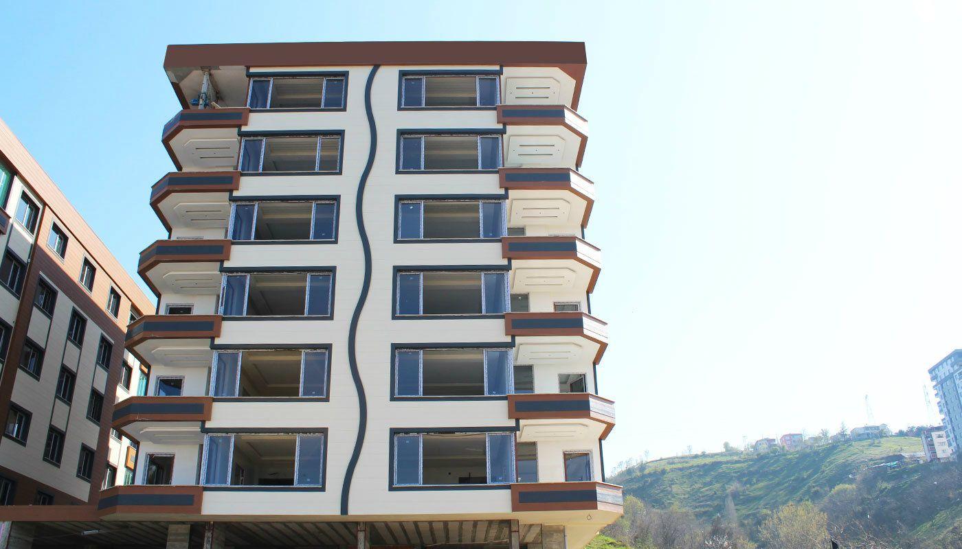 4 Schlafzimmer Wohnungen mit Klimaanlage in Trabzon