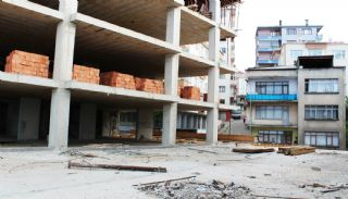 Trabzon Property with Uninterrupted Sea View, Construction Photos-1