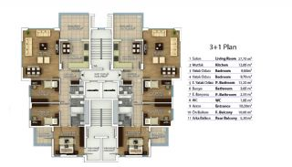 Property in Trabzon with High Quality Workmanship, Property Plans-1