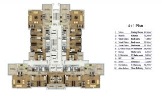 Property in Trabzon with High Quality Workmanship, Property Plans-2