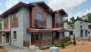 Detached Stone Villas in Trabzon, Construction Photos-1