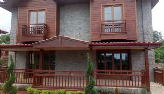 Detached Stone Villas in Trabzon, Construction Photos-2