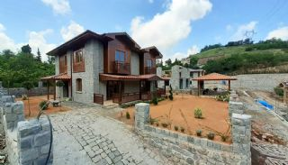 Detached Stone Villas in Trabzon, Construction Photos-3