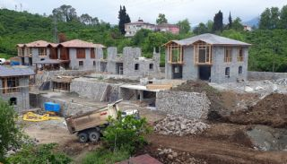 Villas Individuelles en Pierre à Trabzon,  Photos de Construction-6