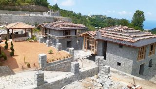 Detached Stone Villas in Trabzon, Construction Photos-7