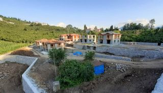 Detached Stone Villas in Trabzon, Construction Photos-11