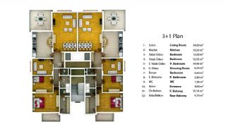 Affordable Apartment in Trabzon Close to the Airport, Property Plans-1