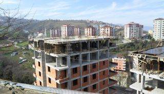Sea View Apartments in Trabzon with Rich Infrastructure, Construction Photos-1
