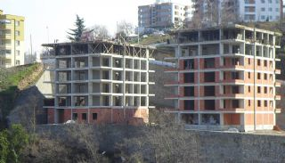 Sea View Apartments in Trabzon with Rich Infrastructure, Construction Photos-2