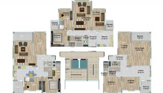 First-Class Quality Apartments in Trabzon Turkey, Property Plans-2