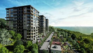 Luxuriöse Wohnungen mit Meerblick in Trabzon Yomra, Trabzon / Yomra - video