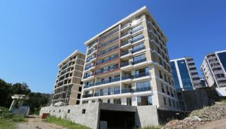 Contemporary Flats with Sea View in Trabzon Ortahisar, Construction Photos-1