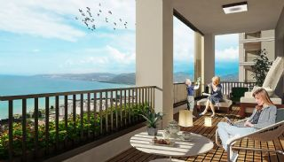 New-Built Apartments with Sea View in Trabzon Ortahisar, Interior Photos-7